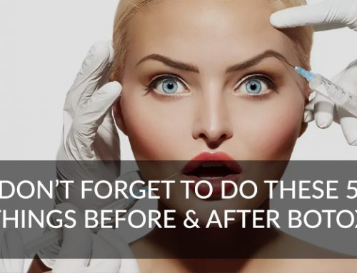 Don't Forget To Do These 5 Things Before & After Anti Wrinkle Injections