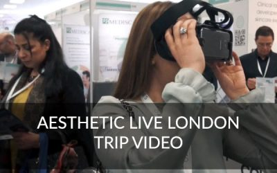 L1P Visits Aesthetic Live in London